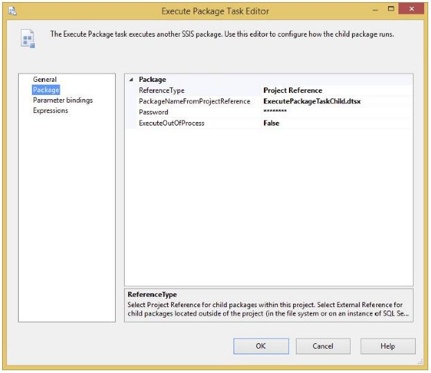 execute package tast editor