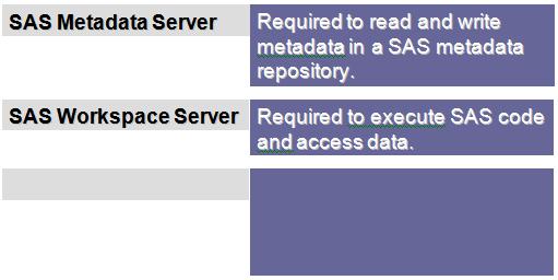 SAS Application Servers