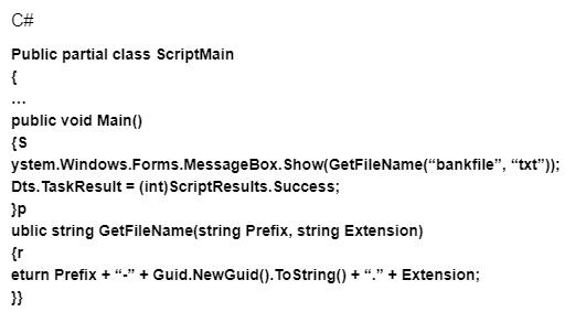 ScriptMain class