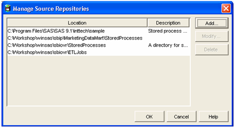 Manage Source Repositories