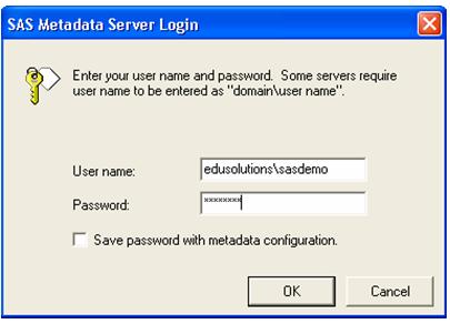 server login