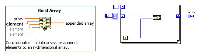 task build array