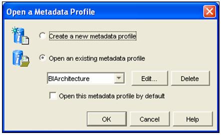 Metadata Profile