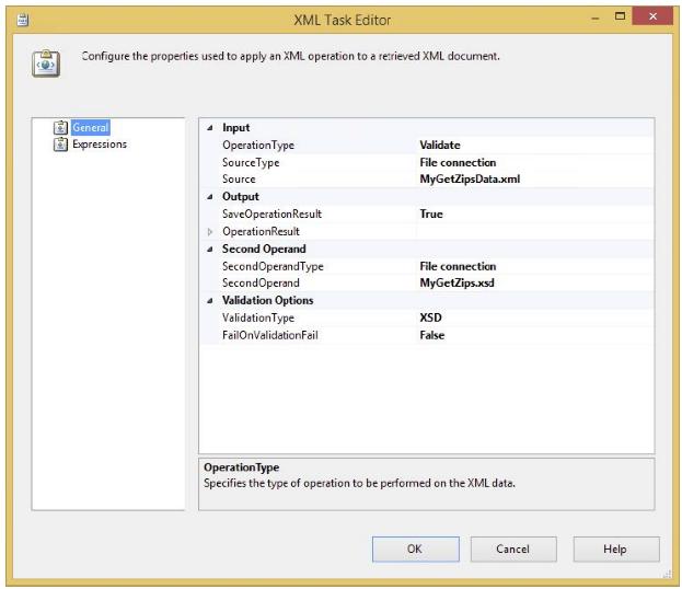 XML Task editor 1