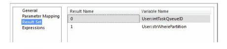 Execute SQL Task