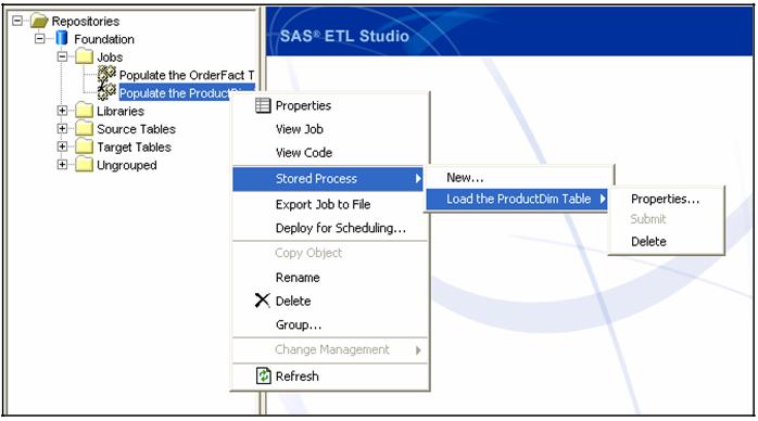SAP ETL Studio