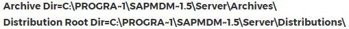 MDM Program folder