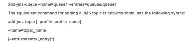 JNDI queues/queue1 namespace