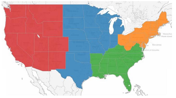Map visualization