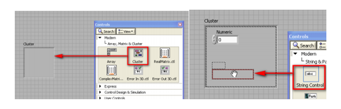 LABVIEW CLUSTER EXAMPLE