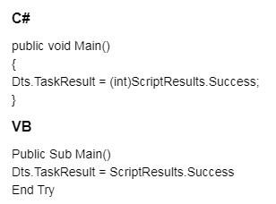 Task Result