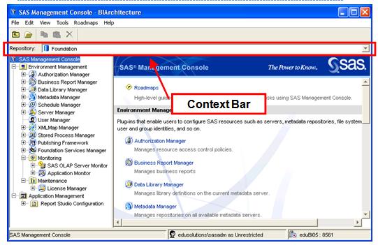 Context Bar
