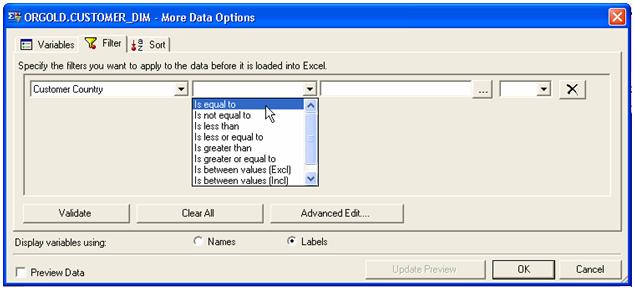 more data options window1