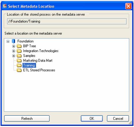 Metadata Location