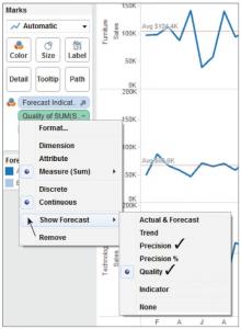 Enabling quality metrics