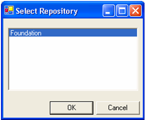 Repository image select