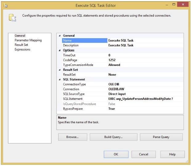 parameter listing