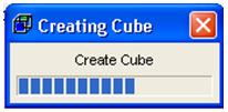 Creating cube