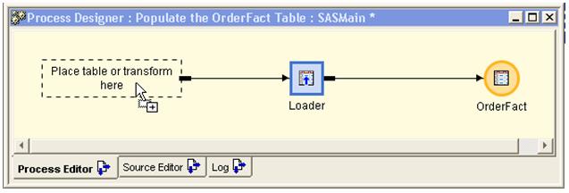 Process Designer window 1