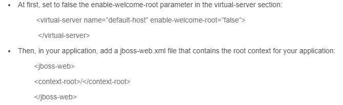JBoss deploying steps