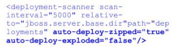 behavior of the application scanner