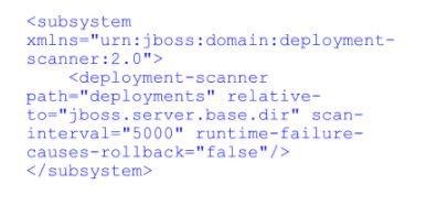 Deployment-scanner domain.