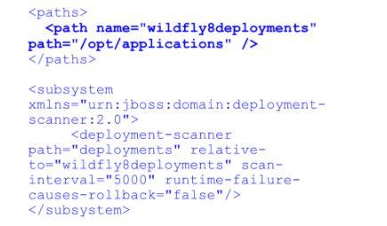 Custom folder applications deployment