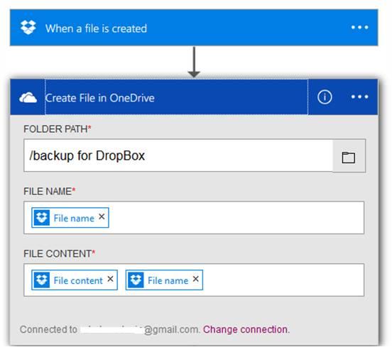 Create file in One Drive