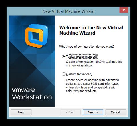 Virtual Machine Wizard
