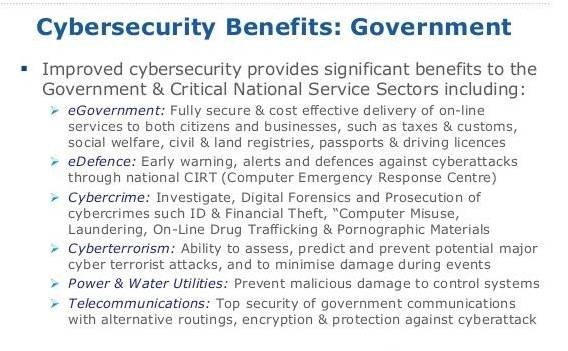 Cyber Security Benefits
