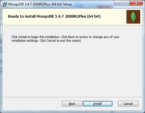 MongoDB - Ready to Install