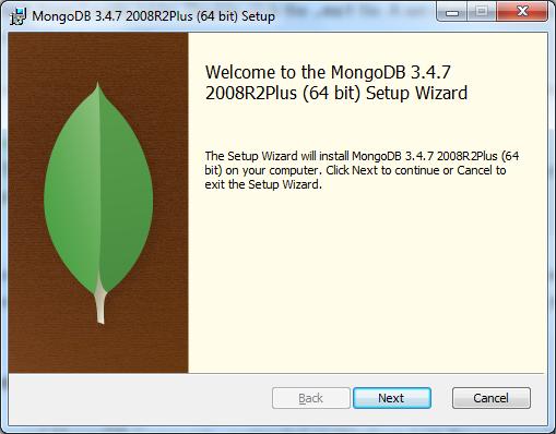 MongoDB Install SetUp