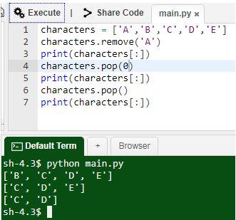 Python Elements
