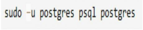 Configuration of PostgreSQL
