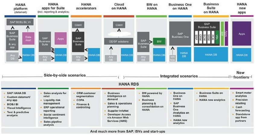 SAP HANA types