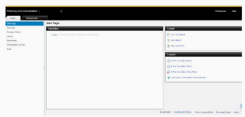 Home page of Admin consol
