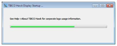 Start Hawk Display option