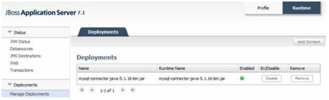 JBoss AS 7- deployments