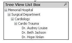 Tree View List Box
