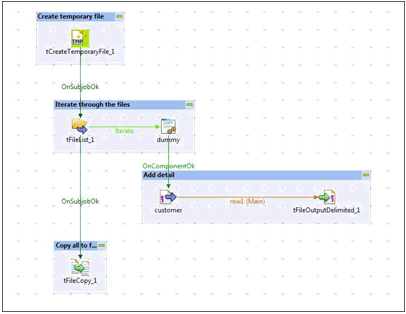 FileList component