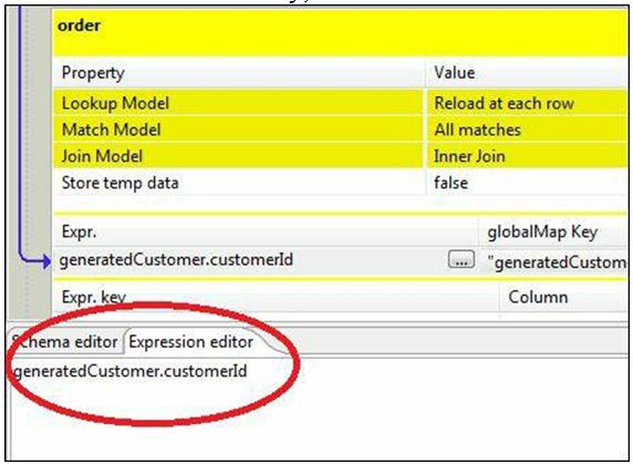 Expression editor
