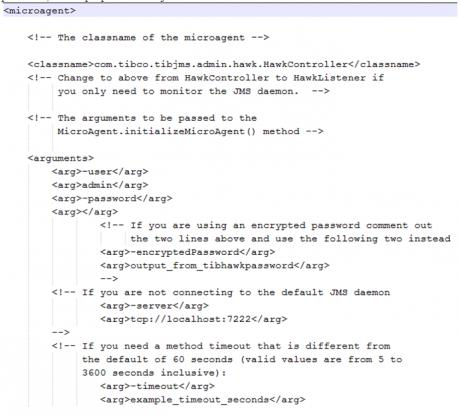 username, password, server properties