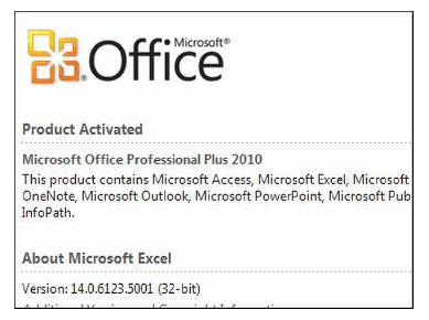 Microsoft Office installation
