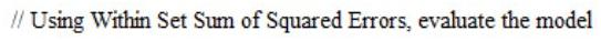 squared errors