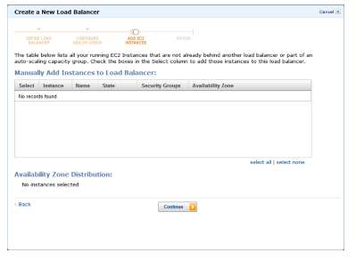 Add Amazon EC2 instances