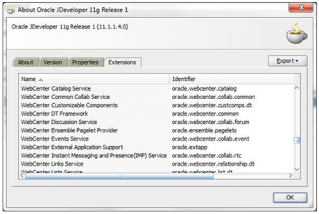 WebCenter extensions