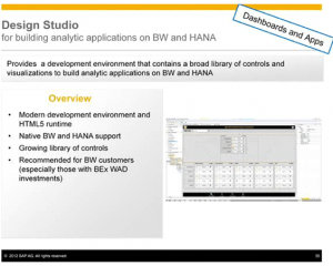 SAP Business Objects Design Studio