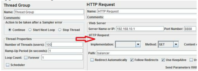 HTTP Request element