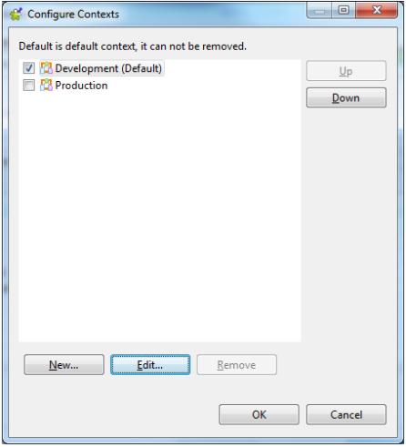 Configure Context