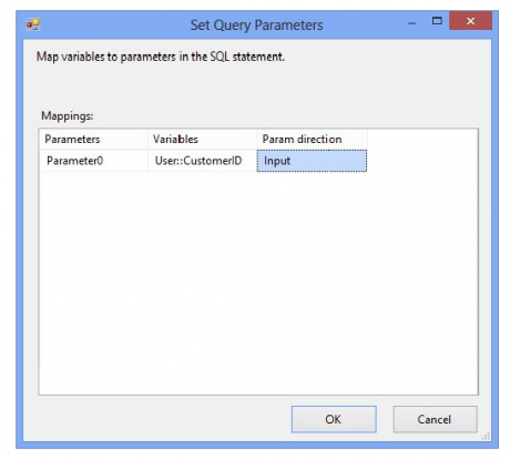 Set Query Paramater